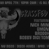 TICKET GIVEAWAY: Grassfed Disco @ Zuzu, 4.7.17